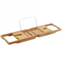 Zeller 13606 Bathtub caddy bamboo natural