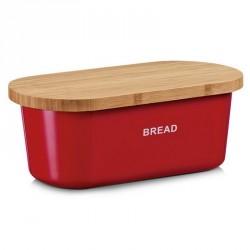 Boite à pain design rouge bread