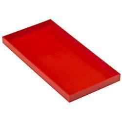 RANGEMENT DESIGN Stack Stack L rouge