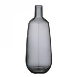 Vase bouteille bloomingville verre gris 31400010