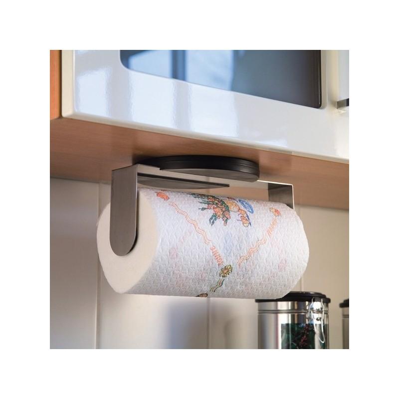 support porte essuie tout mural zeller 24857. Black Bedroom Furniture Sets. Home Design Ideas