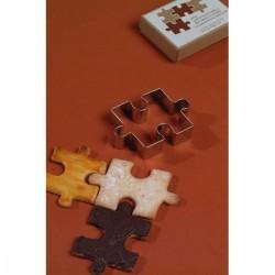 Emporte pièce moule design puzzle lena