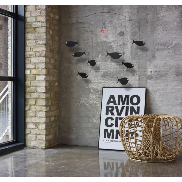 mobile suspension poissons flensted. Black Bedroom Furniture Sets. Home Design Ideas