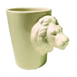 Tasse mug anse tête de lion
