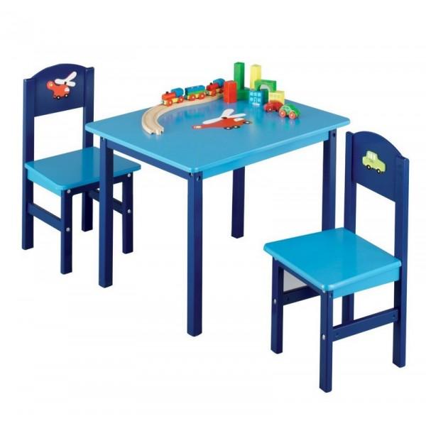 Chaise et table enfant maison design for Table et chaises enfants