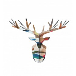Studio Roof TTM38 Cabeza de Ciervo Venado Totem Enchanted Deer Head