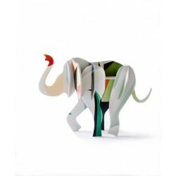 Studio roof elephant sculpture statue en carton decoratif TTM36