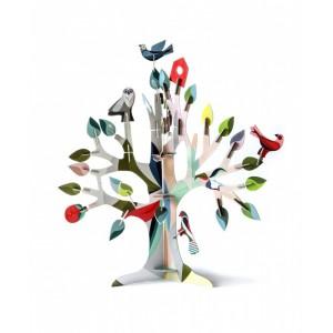 Sculpture arbre en carton totem arbre à rêves studio roof