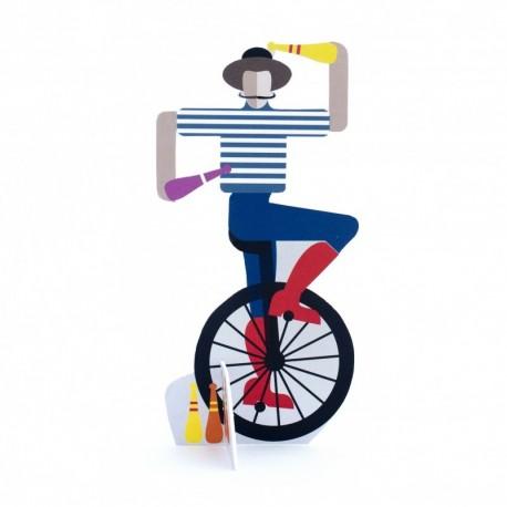 Pop out card studio roof jongleur TPO60