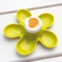 Coquetier design blanc fleur koziol a-pril