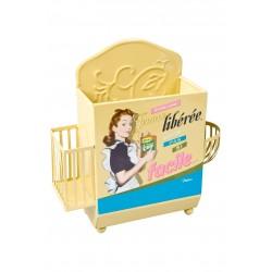 Support accessoires évier femme libérée