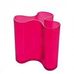 Vase ou pot à crayons koziol clara framboise