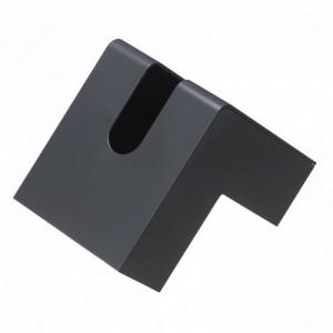 Folio design tissue box grey