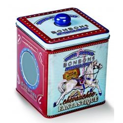 Boîte à bonbons vintage Chevauchée fantastique