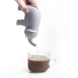 Qualy sugar elephant design sugar bowl