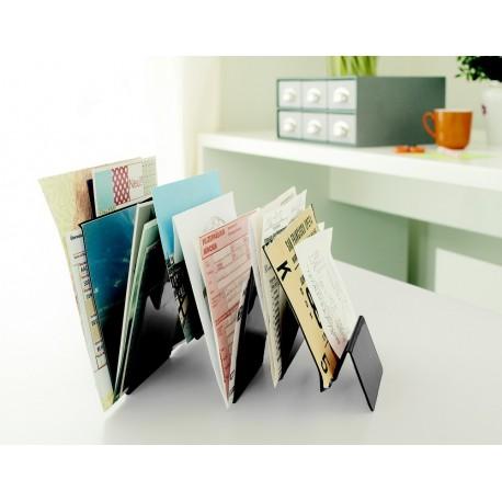 organiseur de bureau design metal noir cedon tabula rasa. Black Bedroom Furniture Sets. Home Design Ideas