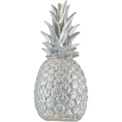 Pineapple Lamp Goodnight Light Pina Colada silver