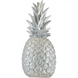 Lampe ananas Pina Colada Goodnight Light argent