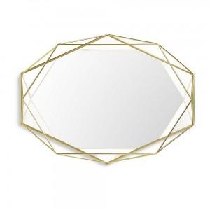 Miroir décoratif laiton Umbra Prisma