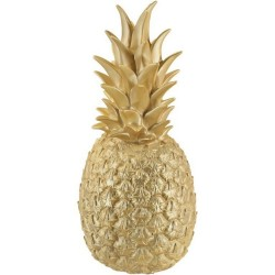 Lampada ananas Goodnight light pina colada d'oro