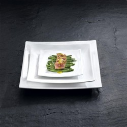 ASSIETTE CARREE DESIGN CUCINA M