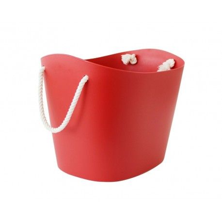 Panier rangement hachiman balcolore rouge S