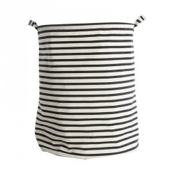 House doctor panier a linge stripes Ls0120
