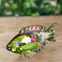 Miho Seaweed Joke Wall Decor Fish
