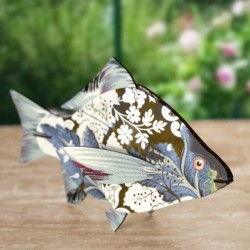 Miho Wall Decoration Fish Trophy Carpe Diem