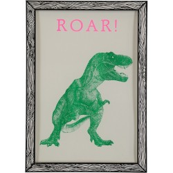 Affiche T Rex Roar The prints by Marke Newton