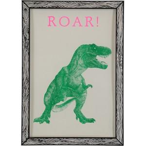 Affiche T Rex Roar The prints by Marke Newton
