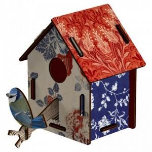 Nichoir fleuri oiseaux miho countryside CASAS13