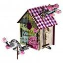 Miho nichoir deco pour oiseaux romantic resort CASAM10