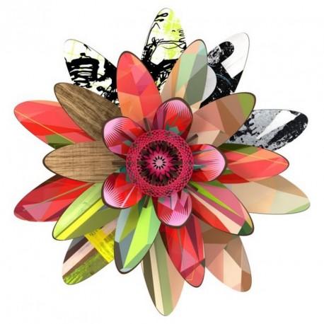 Miho fleur décorative murale marte