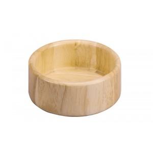 Bol en bois d hevea zeller 24020