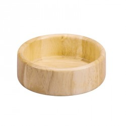 Bol en bois d hevea zeller 24019