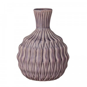 Bloomingville 27120005 vase rose heavy structure
