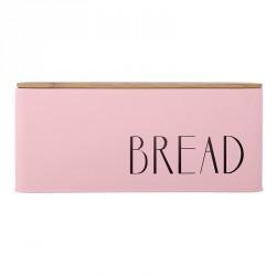 Bloomingville 97501432 Bread Storage Bin, metal powder pink