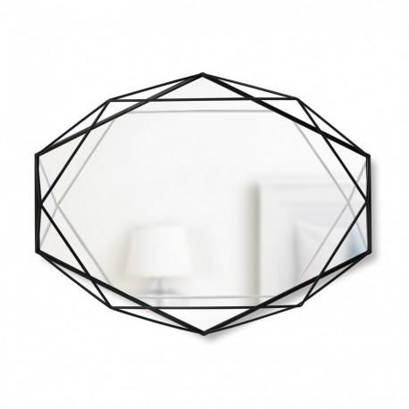 Miroir déco métal noir umbra prisma