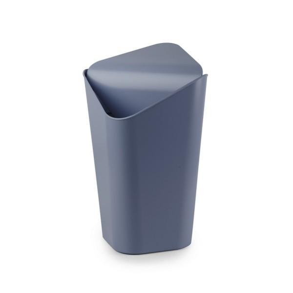 Poubelle a bascule d 39 angle gris bleu umbra corner 086900 755 - Poubelle d angle cuisine ...