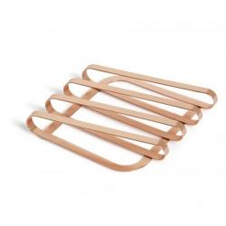 umbra 330288-880 pulse dessous de plat deco metal cuivre
