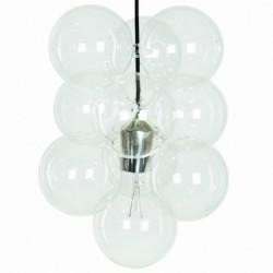 Lampe suspension diy house doctor 12 boules en verre Diy01
