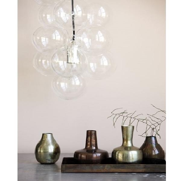 Lampe suspension diy house doctor 12 boules en verre diy01 - Lampe suspension boule ...