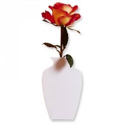Cedon Wall Vase Metal White