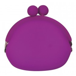 P+G pochi silicone purse purple