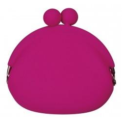 P+G pochi silicone purse pink