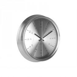 Horloge karlsson nautical acier inoxydable