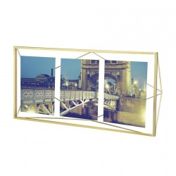 umbra 313019-221 prisma cadre photo multi metal dore