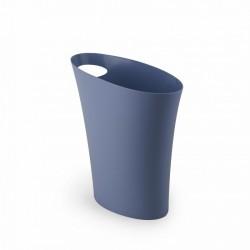 Poubelle design umbra skinny bleu gris