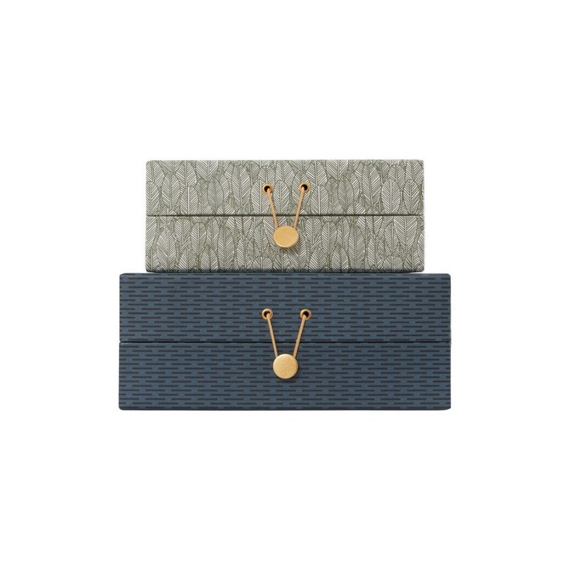 jolies boites de rangement en carton house doctor sk1258. Black Bedroom Furniture Sets. Home Design Ideas